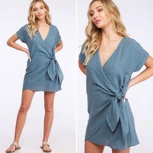 """""""Estelle"""" dress blue"""